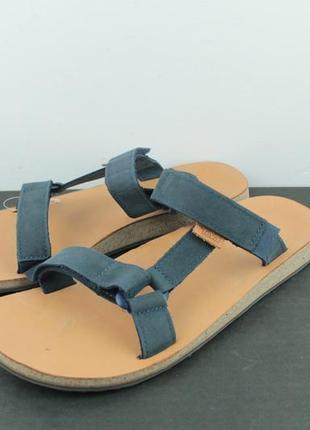 Оригинальные кожаные босоножки сандали teva universal slide leather sandals