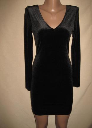 Велюровое платье примарк р-р8