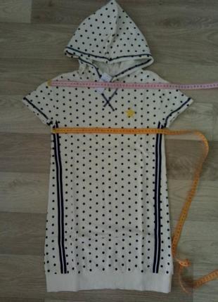 Платье с капюшоном gap