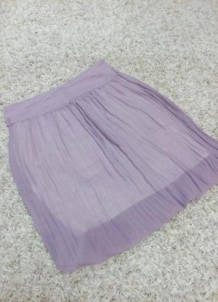 Летняя юбочка цвет фиолетовый
