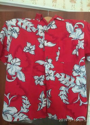 Супер рубашка в гавайском стиле