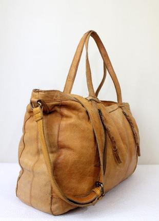 Кожаная дорожная сумка pieces