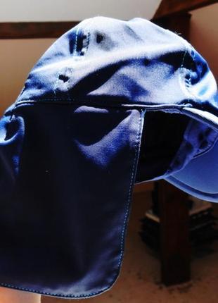 Next. трикотажная кепка с защитой шеи на 6-12 месяцев.