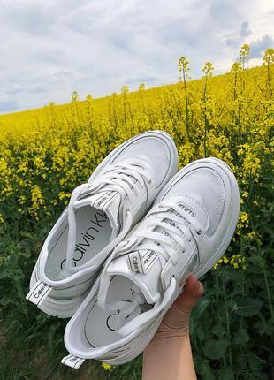 Келвин кляйн женские кроссовки