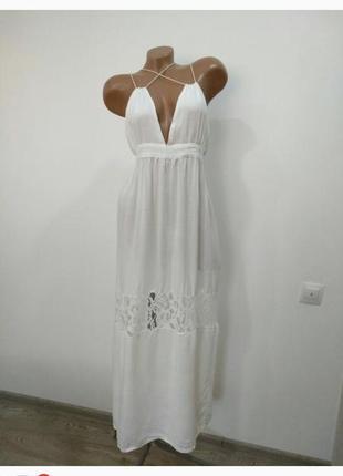 Очень красивое пляжное платье