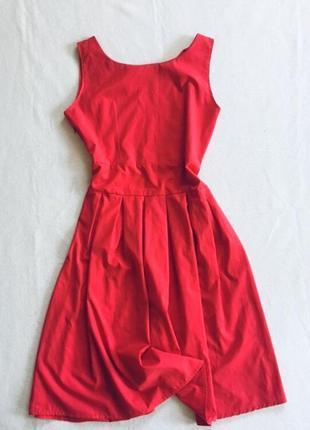 Платье 👗 морковного цвета