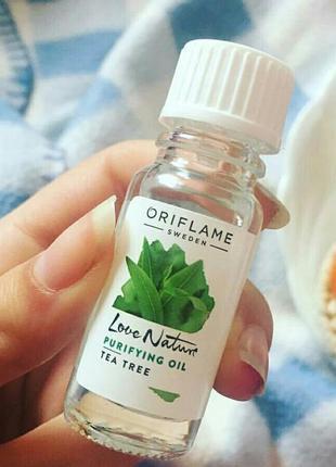Антибактериальное средство для лица с органическим чайным и лаймом love nature