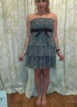 Лёгкое нарядное платье oodji
