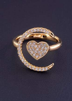 Кольцо 'xuping' фианит (позолота 18к) 0754920