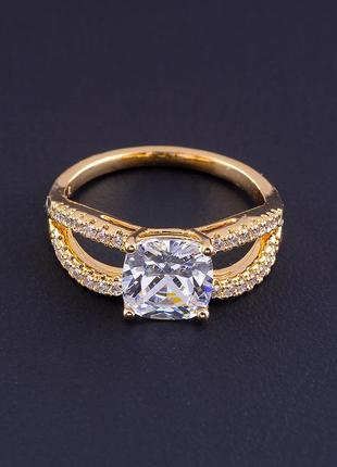 Кольцо 'xuping' фианит (позолота 18к) 0754930