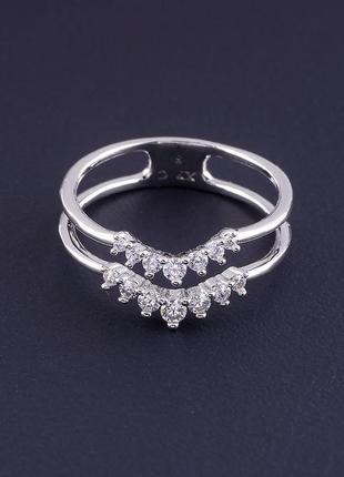 Кольцо 'xuping' фианит (родий) 0754950