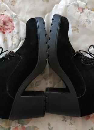 Туфли женские, натуральный замш40р.