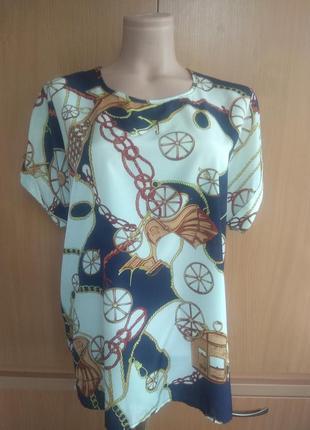 Стильная блуза, футболка, топ, рубаха