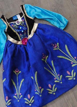 Платье анны disney на 3-4 года