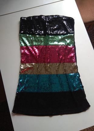 Платье , сарафан с паетками