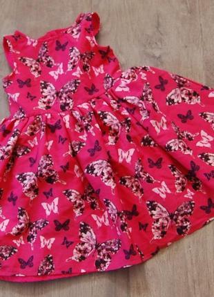 Легкое платье yd  на 2-3 года