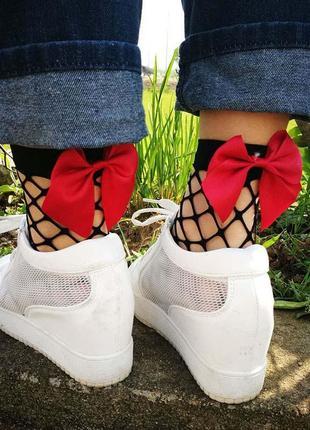 Носочки с бантиком