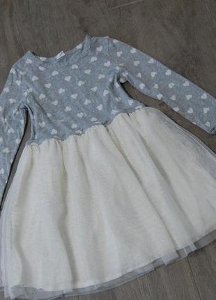 Нежное платье gap на 5 лет