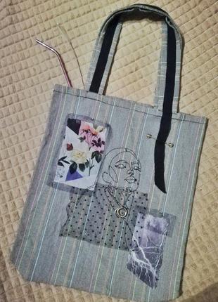 Эко-сумка сумка шоппер тоут бэг