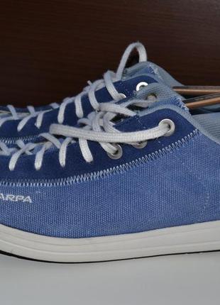 Scarpa 45 кроссовки ботинки горные кожаные. треккинговые