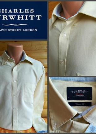 Классическая рубашка британского бренда charles tyrwhitt, оригинал