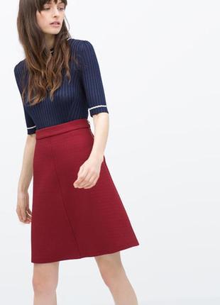 Zara юбка с завышенной талией , s