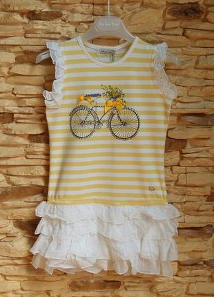 Платье/сарафан fun&fun (италия) на 6 лет (размер 116)