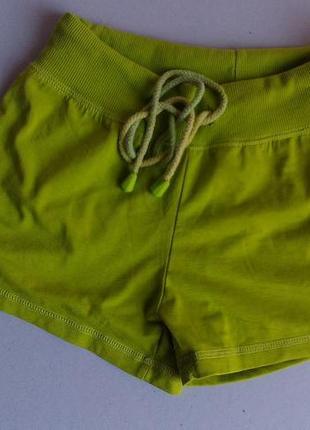 Натуральніе яркие  шорты