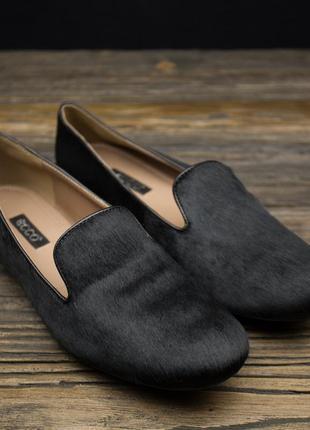 Женские туфли лоферы ecco perth 351713 оригинал р-383 фото