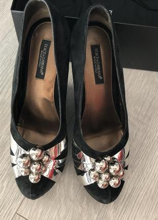 Туфли dolce& gabbaba