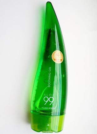 Заспокійливий і зволожуючий гель з алоє  holika holika aloe 99% soothing gel