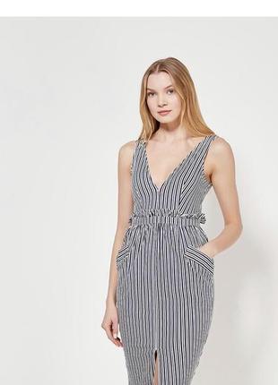 Стильный сарафан платье
