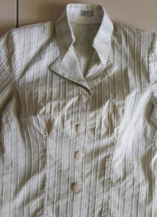 Летний костюм из натуральной ткани