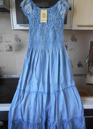 #крутое джинсовое платье в пол #qinglilaijia#размер xxl\  xl/так же пойдет на l\m\s,#2 фото