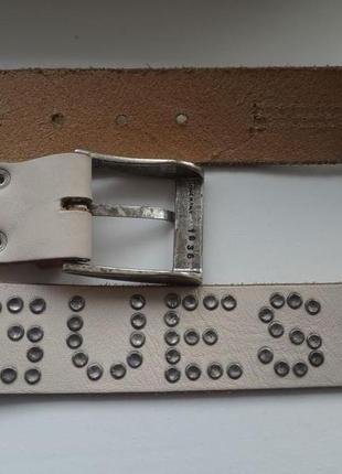 Кожаный ремень guess номер 1836 оригинал