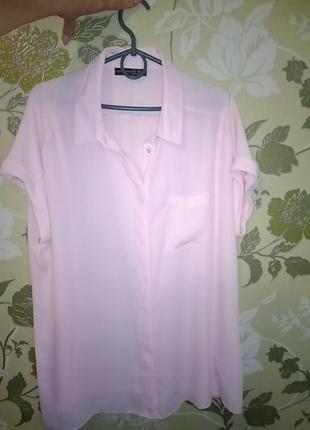 Блуза нежно розового цвета