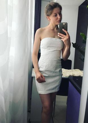 Платье хлопковое , платье с кружевом, платье выпускное, платье вечернее