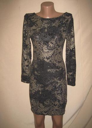 Красивое платье miss selfridge petite р-р14