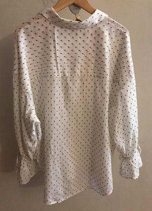 Оверсайз рубашка от h&m m-l2 фото