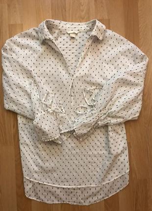 Оверсайз рубашка от h&m m-l3 фото