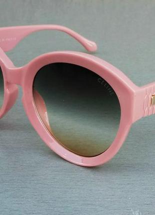 Celine очки женские солнцезащитные коралловые