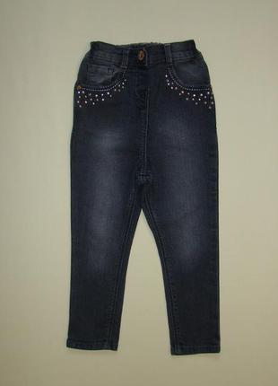 Серые скинни джинсы george 3-4