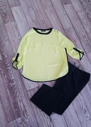 Лимонная блуза от wallis
