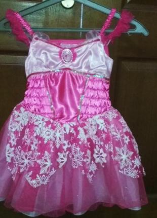 Детское праздничное платье, детское платье 5-7лет