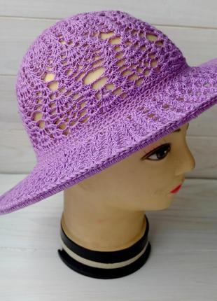 Шляпа летняя с полями 01