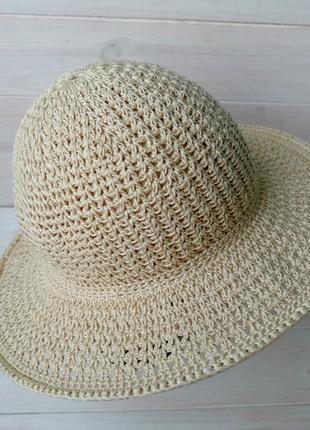 Шляпа летняя с полями 04