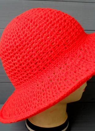Шляпа летняя с полями 05