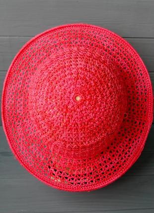 Шляпа летняя с полями 06