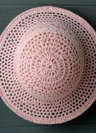 Шляпа летняя с полями 07