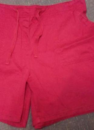 Классные яркие шорты (12-14), розовые, новые